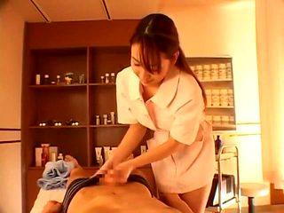 Fabulous Japanese model Anna Kanzaki in Horny Massage, POV JAV clip