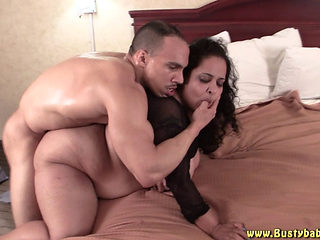 Bbw Babe Getting Fucked In Bed