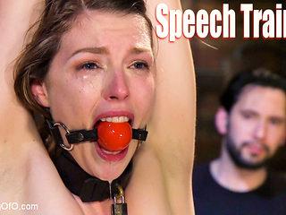 Speech Training an Anal Slut: Ella Nova - TheTrainingofO