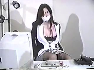 Crazy homemade Office, MILFs adult video