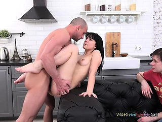 Chick Tetti Dew Korti Gets Fucked By BFs Hung Boss