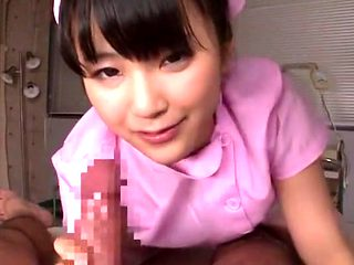 Crazy Japanese chick Anna Takagawa, Yuki Itano, Mikoro Mochida in Horny Nurse, POV JAV scene
