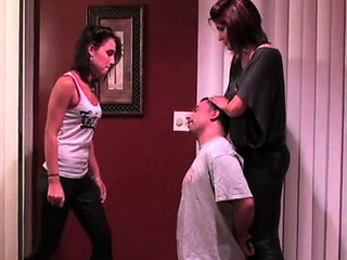 Breathtaking female domination with mistress grinding ramrod