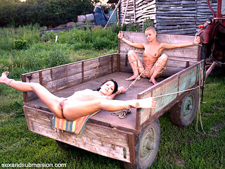 Steve Holmes & Sabrina Sweet & Cj in Farm Slaves From Budapest - SexAndSubmission
