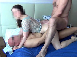 Russian Hotwife gangbanged by four strangers