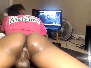 Big Ass Ebony Nailed By A Black Dick