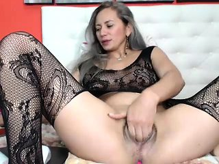 Hairy Pussy MILF Webcam