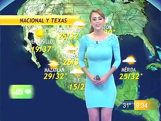 Hot weather lady in a tight dress