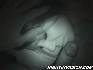 A fuck session secretly filmed