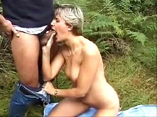 Classic German Mommy Outdoor Fun