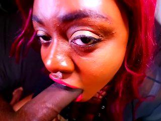 Another Nigga's Drunk Bitch Sucking My Dick - Cum In Mouth