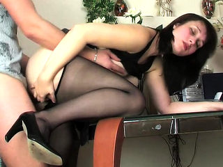 Big titties Abigail kinky nylon fetish