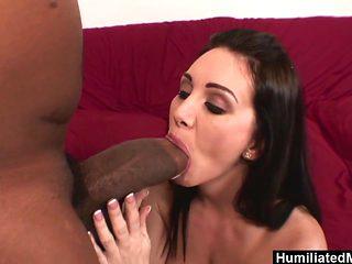 HumiliatedMilfs - She loves his Monster black Stick
