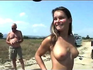 Nude Beach - promiscuous Exhibitionist Shoes for Voyeurs
