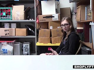 Shoplyfter - Petite Teen Hidden Camera Sex Tape