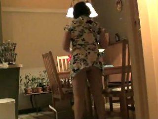 Women filmed with a hidden camera