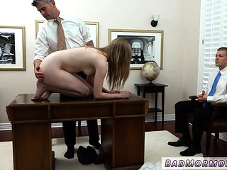 Big cock punishment and dad punishes horny duddy' boss's dau