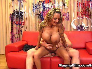 Horny pornstar in Amazing Reality, Cumshots sex movie