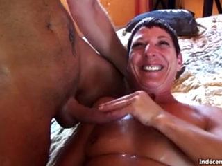 Short Haired French Mature Fucked Hard