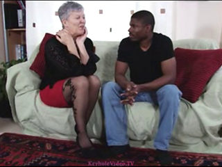 Granny Savana Place With A Big Black Cock