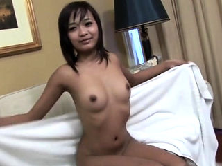 Thai shemale cock suck with facial cum