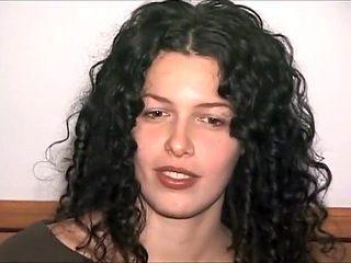 Fabulous Brunette, Casting porn clip