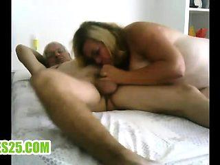 Grandpa and grandma in bed Harold from dates25com