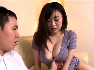 Japanese tart has got big boobs