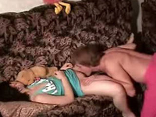 chick girl gets fucked while sleeping in bed