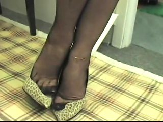 Amazing amateur High Heels, Foot Fetish porn clip