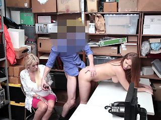Skylar Snow punished for sex infront of mom