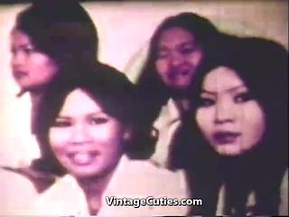 Huge Cock Fucking Asian Pussy in Bangkok (1960s Vintage)