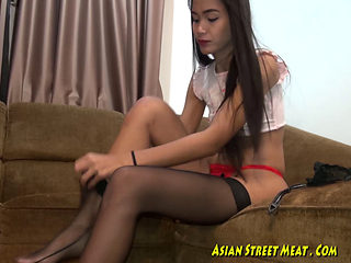 Beautiful Brunette Asian Slut Fucked And Facialized