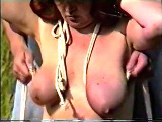 Amazing amateur Spanking, Big Tits porn video