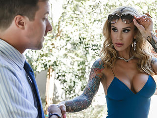 Sarah Jessie & Jessy Jones in Bringing Down The House - Brazzers