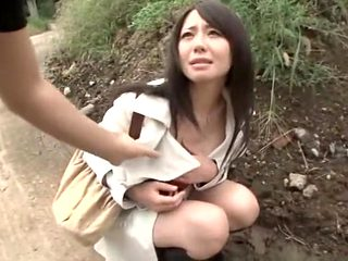 Hottest Japanese whore in Crazy Outdoor, Amateur JAV movie