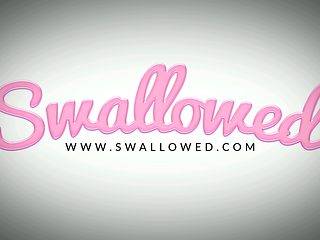 SWALLOWED Ultimate Blowbang With Three Hotties