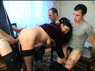 MILF fell into boys party trap PART1 - More On HDMilfCam,com