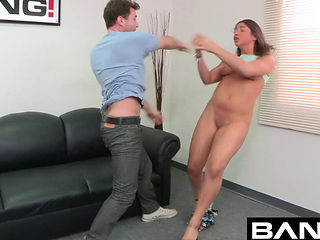 Trisha Parks Gets Fucked While Her Face Gets Stepped Into The Ground