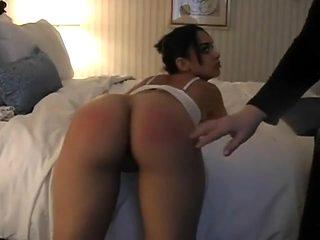 Crazy homemade BDSM, Brunette adult scene