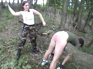 Back country spanking