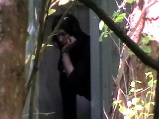 Infrared voyeur outdoor fucking