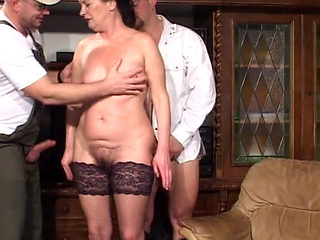Hungarian Granny Fucked And Pissed