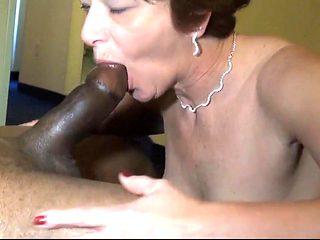 Mature Loves Her Black Solid Sausage