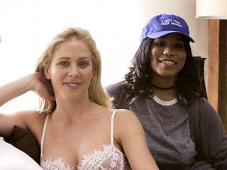 Cherie DeVille & Abella Danger & Jenna Foxx & Tyler Knight in BTS - Interracial Family Needs #02 ...
