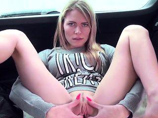 Unusual czech cutie stretches her yummy vagina to the50Hgu