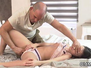 Teen cock first time Anita B had a sexual dream that an olde