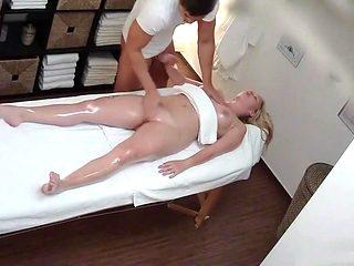 Big tits Marie massage and fuck