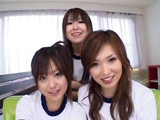 Fabulous Japanese girl Kanon Miwa, Miyu Hoshino, Kanako Tsuchiya in Exotic Fingering, College JAV...