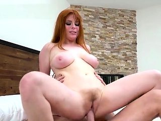 Big boobs pornstar pov with swallow